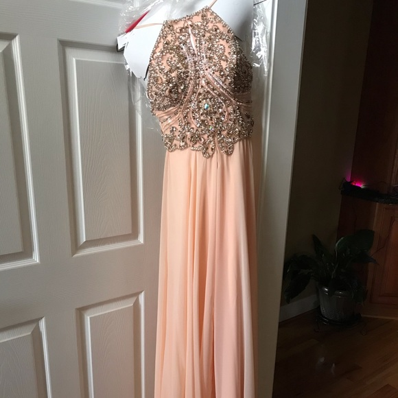 Sherri Hill Dresses & Skirts - Sherri Hill Peach Formal dress worn once